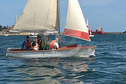 Alcudia barcos de vela ligera