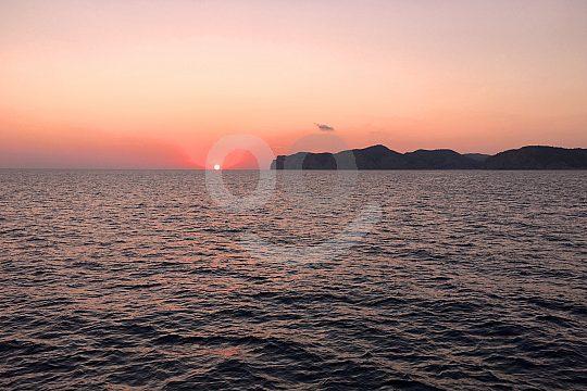 salida en barco puesta de sol Mallorca