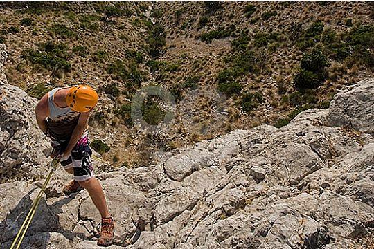 auf Mallorca Abseilen