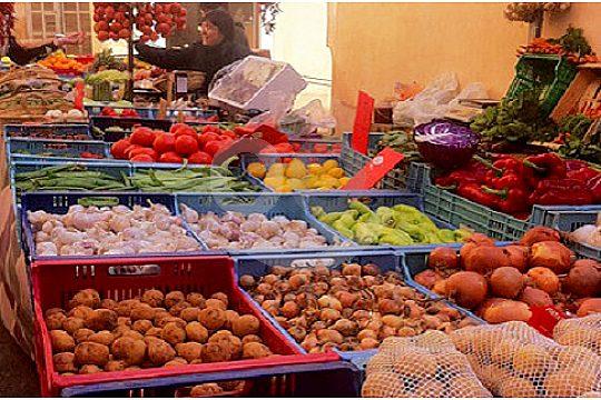 Mallorca visita el mercado de Sineu