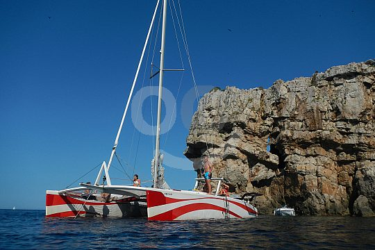 Menorca catamarán