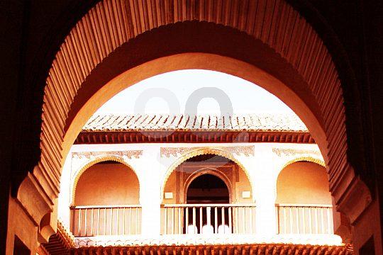 palacio medieval en Granada