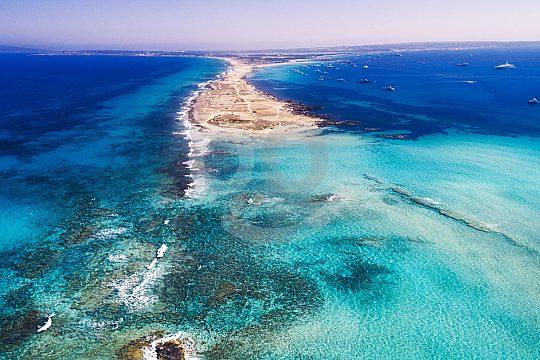 paraíso insular Espalmador
