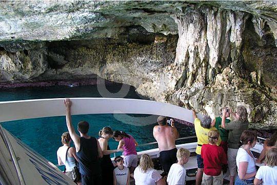 excursión en barco a las cuevas de Mallorca