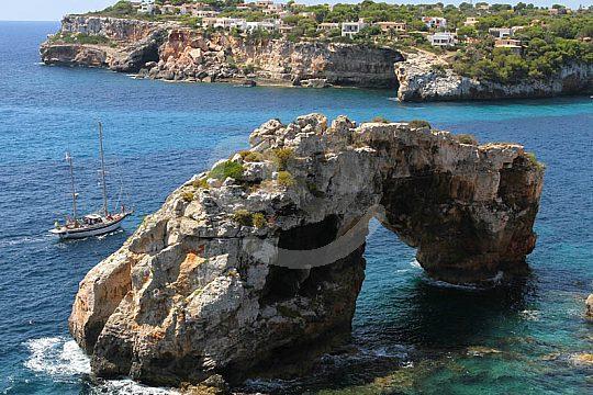 La costa este de Mallorca