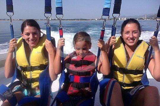 Deportes acuáticos Mallorca con niños