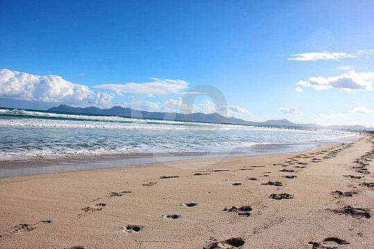 Surfen am Playa de Muro