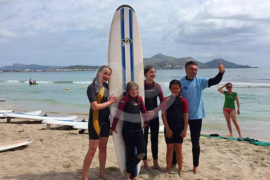 In Mallorca Surfen lernen