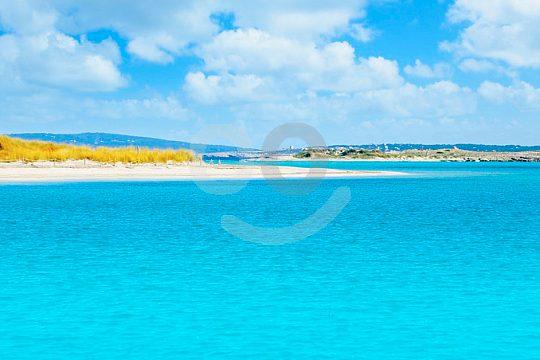 hermosas playas en Espalmador