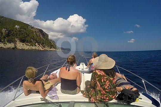 Bootstour rund um Formentor