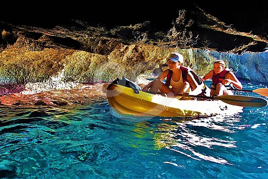 ir en kayak en Pollensa