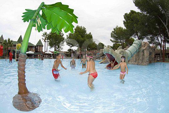 excursión al parque acuático Mallorca