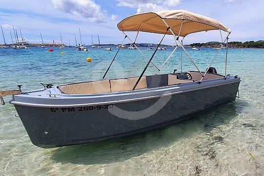 Führerscheinfrei Boot mieten auf Mallorca