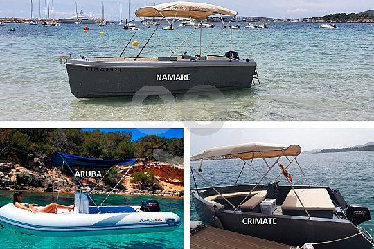 Boot ohne Führerschein mieten in Puerto Portals