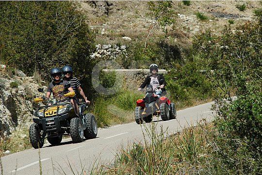 Excursión en quad en cala ratjada Mallorca