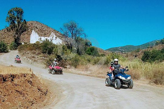 conduce un quad en Fuengirola