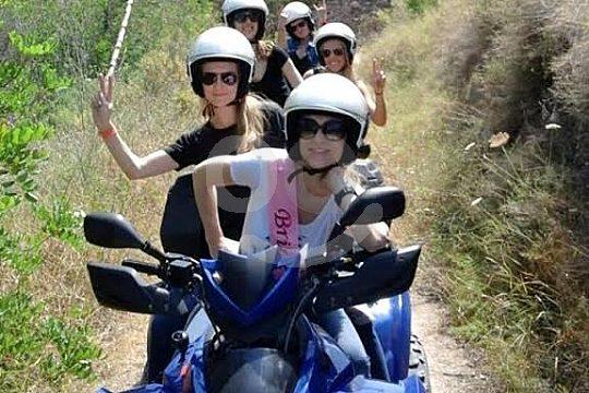 Ibiza tour en quad con guía