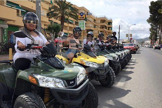 excursión en quad Ibiza