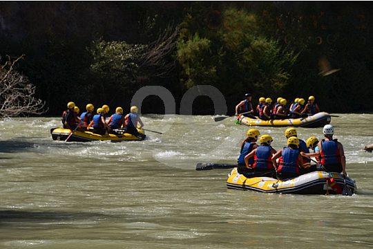 rafting en el Río Genil