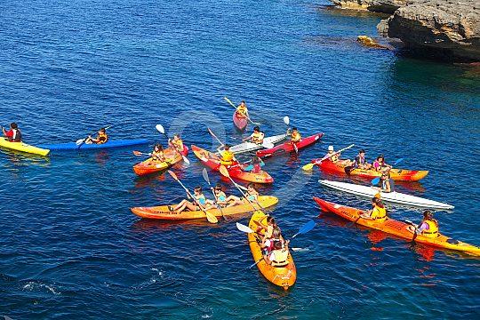 alquiler un kayak en Mallorca