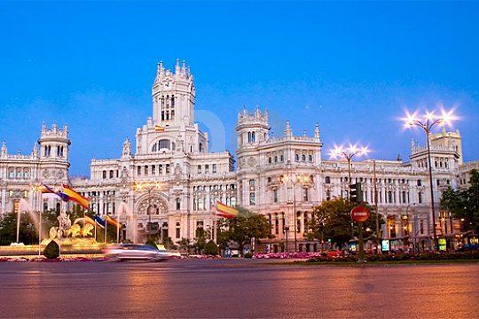 ruta GPS por Madrid