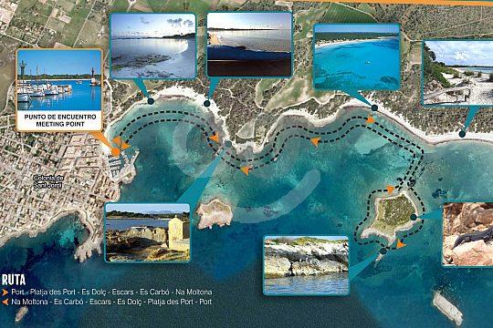 ruta del kayak tour en Mallorca
