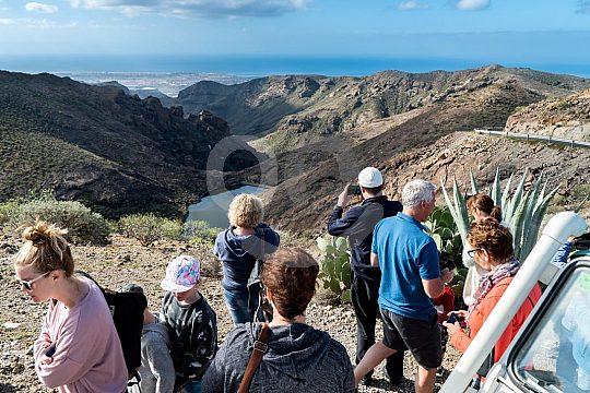 Fabulosas vistas a las montañas de Gran Canaria
