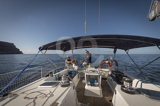 Segelboot für bis zu 8 Personen mit Skipper