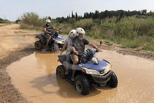 Excursión en quad desde Salou