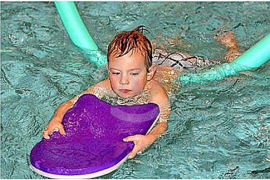 aprender a nadar mallorca pequeños principiantes