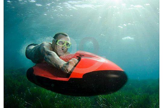 Seabob debajo de mar