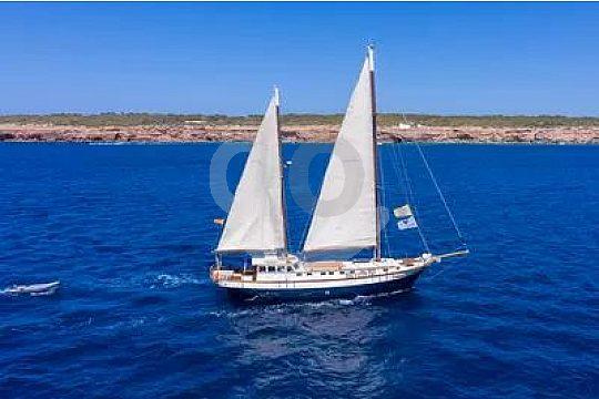 Segeln vor Formentera