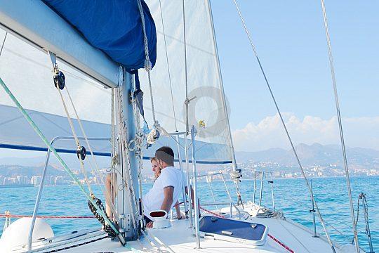 Alquiler barco desde Málaga con patrón