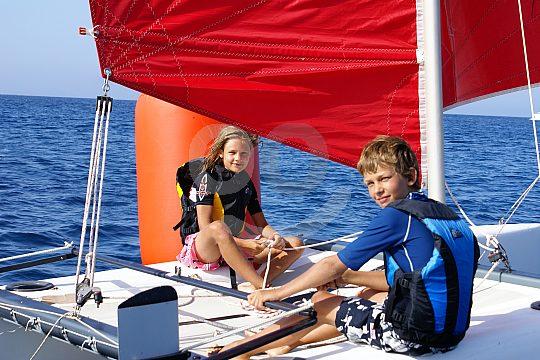 Deportes náuticos de Formentera desde Es Pujols