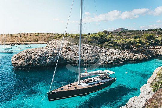Türkisblaues Wasser in Mallorcas Buchten