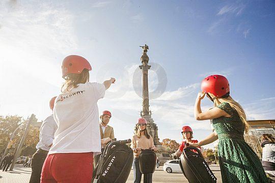 tour en Segway por Barcelona