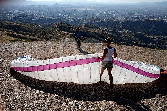 Granada Paragliding Ausflug