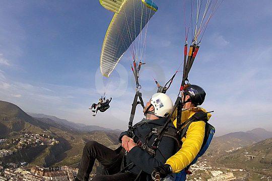 Paragliding testen in Spanien