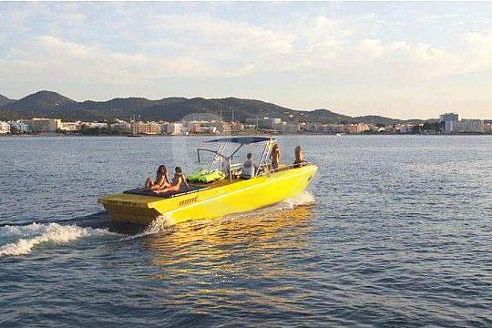 Ibiza excursión en barca por la puesta de sol