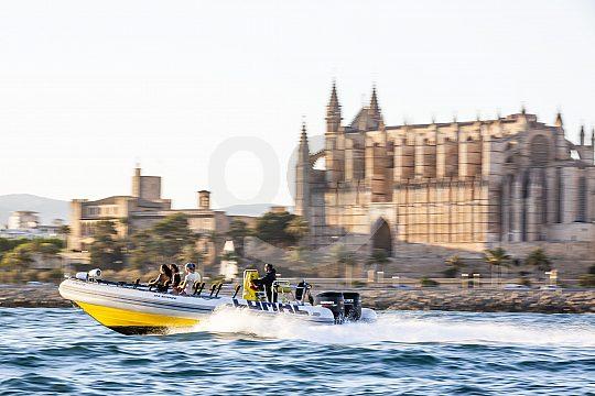 Mallorca Speedboot-Tour an der Playa de Palma