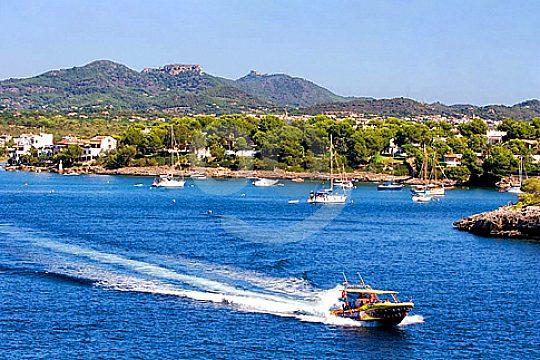 An der Bucht auf der Speedboot Tour