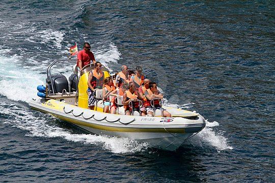 Pequeño speed boat Mallorca