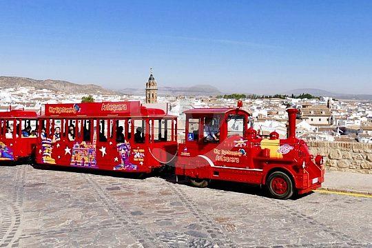 tren turístico rojo Antequera