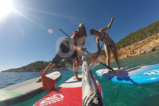 Aprende a remar en Ibiza