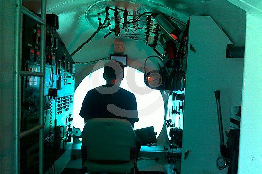 Submarino Mallorca con patrón
