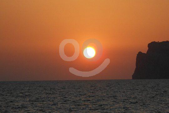 Salida en barca para la puesta de sol