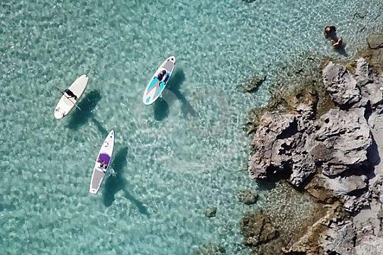 Stehpaddel-Tour um Formentera