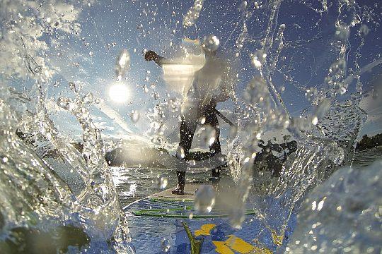 Deportes acuáticos en Formentera cerca de Ibiza