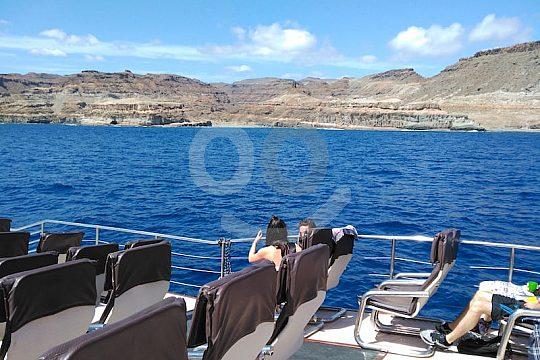 Excursioin en catamarán por Gran Canaria