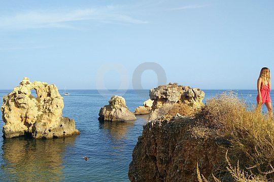 costa este Albufeira Portugal